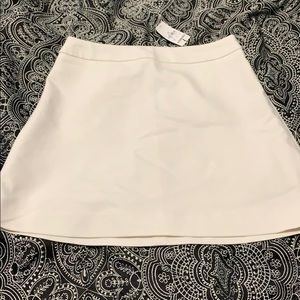 A line off white Express skirt